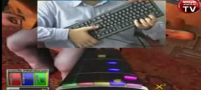 Bu da 'Turkish Guitar Hero'