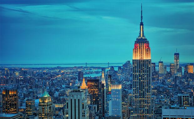 <div> Empire State Building, Amerika</div>