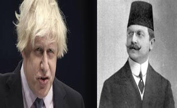 İngiltere Dışişleri Bakanı Boris Johnson - Osmanlı'nın son İçişleri Bakanı Ali Kemal
