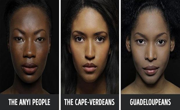 Anyi İnsanları, Cape-Verdeanslar ve Guadeloupeans (Karayipliler)