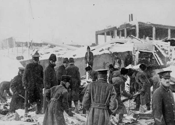1917 - Halifax Patlaması