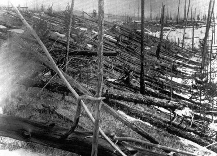 1908 - Tunguska Patlaması