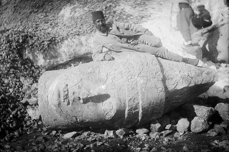 Meşhur Nemrut kazısı