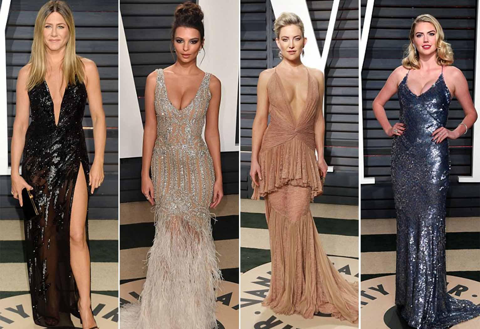 Zaten benim Oscar'ın en sevdiğim yanı, ünlü markaların kıyafetleriyle boy gösteren abilerimiz, ablalarımız...