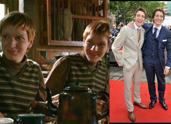<strong>10. James ve Oliver Phelps (Fred ve George Weasley)</strong>