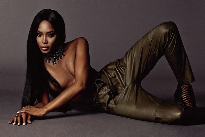 27- Naomi Campbell<br /> &nbsp;