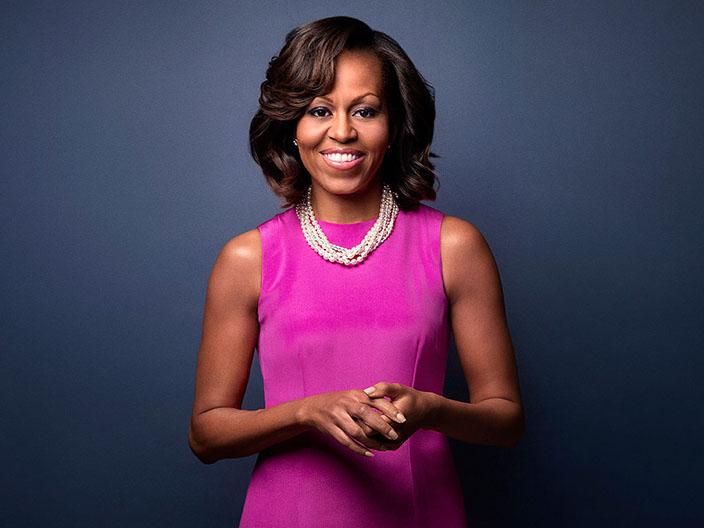 21- Michelle Obama<br /> &nbsp;