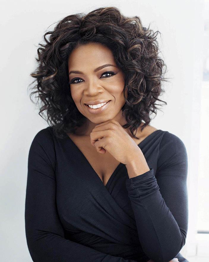 22- Oprah Winfrey<br /> &nbsp;
