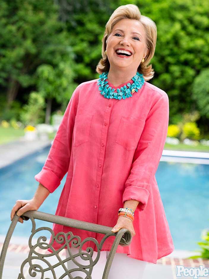 6- Hillary Clinton<br /> &nbsp;