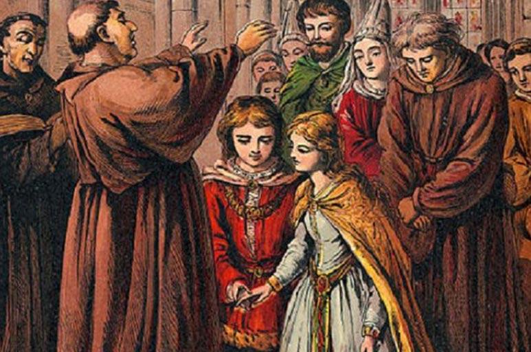 Evliliğin tarihi insanlık tarihinin ilk zamanlarından bu yana olduğu biliniyor.