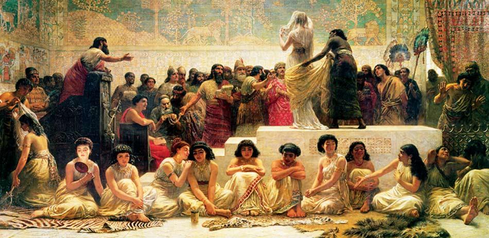Babil'de Evlilik