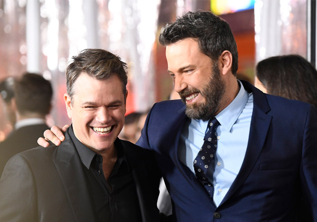 3- Matt Damon ve Ben Affleck