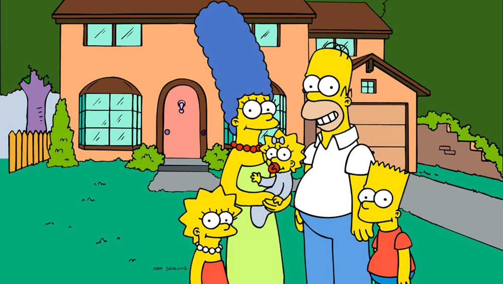 5- The Simpsons