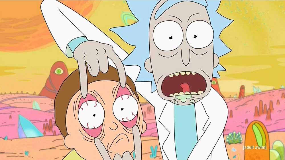 3- Rick And Morty (2013-Devam Ediyor)<br />