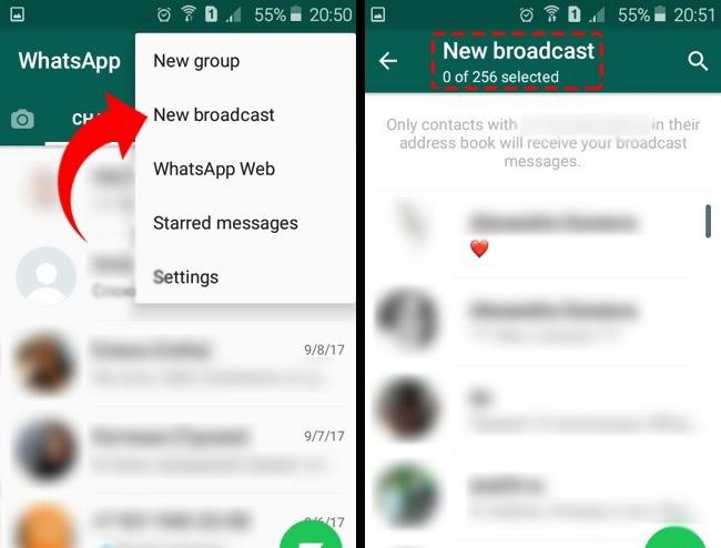 WhatsApp Sohbet Balonu Ekleme