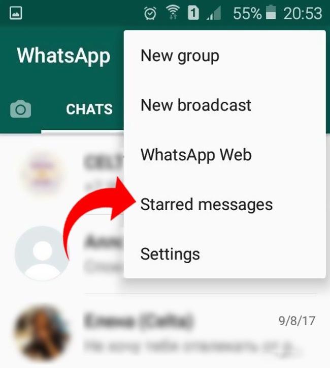 whatsapp sohbet hilesi