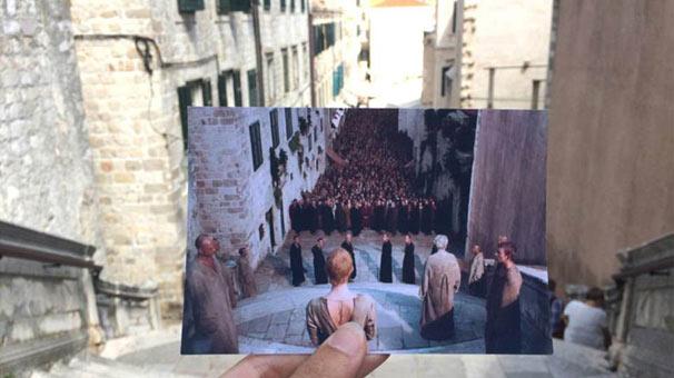 <h2><strong>Jesuit Merdivenleri, Dubrovnik, Hırvatistan</strong></h2>