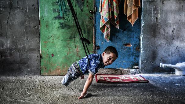 <strong>Engelli kardeşlerin yaşamı - Ali Jadallah</strong>