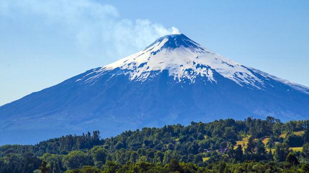 <strong>4. Villarrica Yanardağı, Şili</strong>