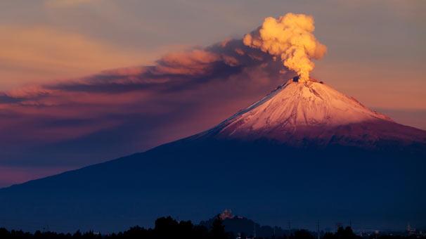 <strong>5.&nbsp;Popocat&eacute;petl Yanardağı, Meksika</strong>
