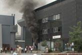 CNR Fuar Merkezi'nde yangın paniği