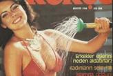 İşte Türkiye'nin  ilk erotik dergisi...