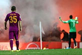 UEFA'dan   Galatasaray'a ceza!