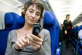 Uçaklarda cep telefonu kullanılabilecek!