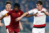 Dev maçta   Roma'ya darbe!