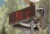 Bu ilde termometreler   54 dereceyi gördü