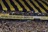 F.Bahçeli taraftarlardan   Bursaspor'a teşekkür!