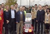 50 kuruşluk elektrikle 144 km yol gitti  Birinci oldu