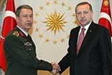 Cumhurbaşkanı Erdoğan Genelkurmay Başkanı ile görüşecek