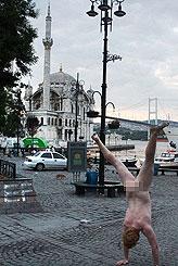İstanbul'da bir  garip olay!