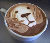 Bu da kahve sanat�