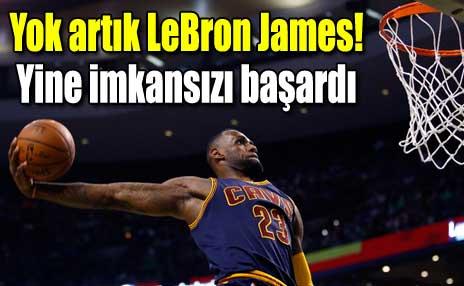 Yok artık LeBron James! | İzle | Spor | Skorer.tv