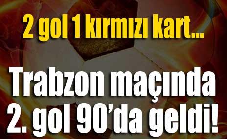 Gençlerbirliği - Trabzonspor: 1-1