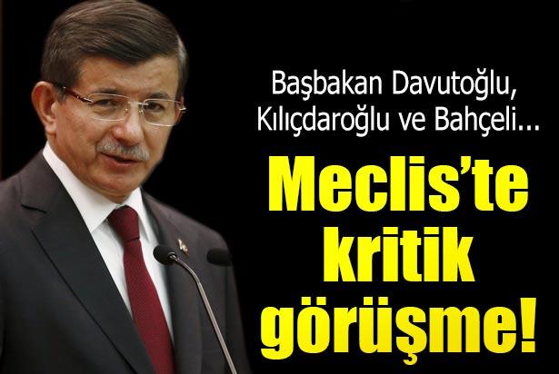 Davutoğlu 2 lidere bilgi verdi