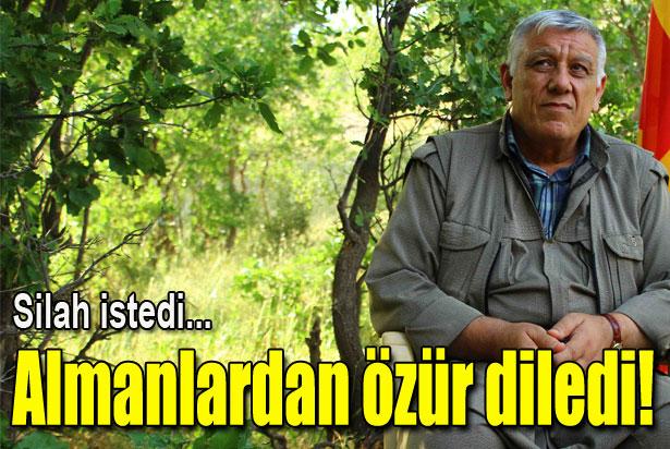 PKK'lı Bayık, Almanlardan özür diledi!