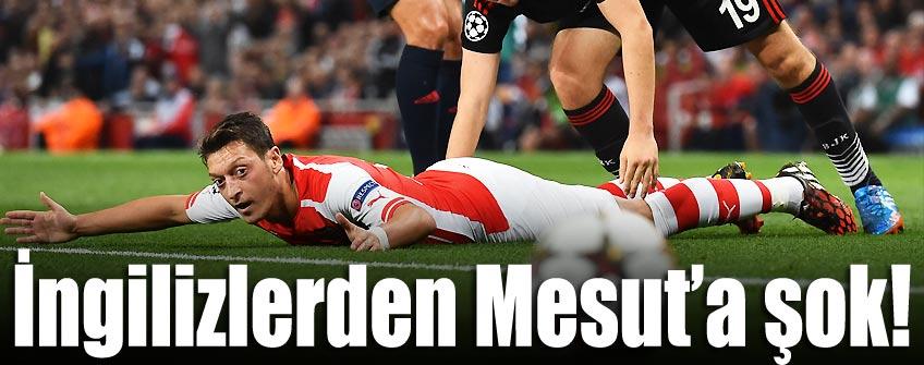 En düşük notu Mesut Özil'e verdiler