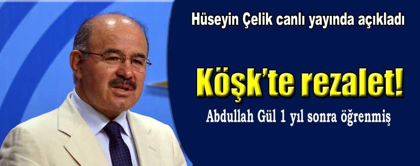 Abdullah Gül'den 1 yıl boyunca gizlemişler çirkin olay