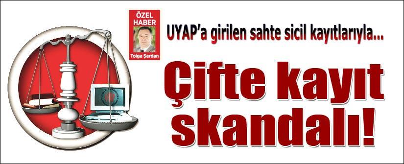 UYAP'ta 'çifte  kayıt' skandalı