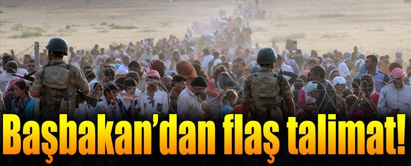Başbakan Davutoğlu: Sınırdaki valilere talimat verildi