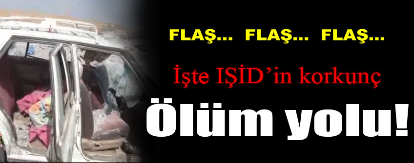 IŞİD'in ölüm yolu