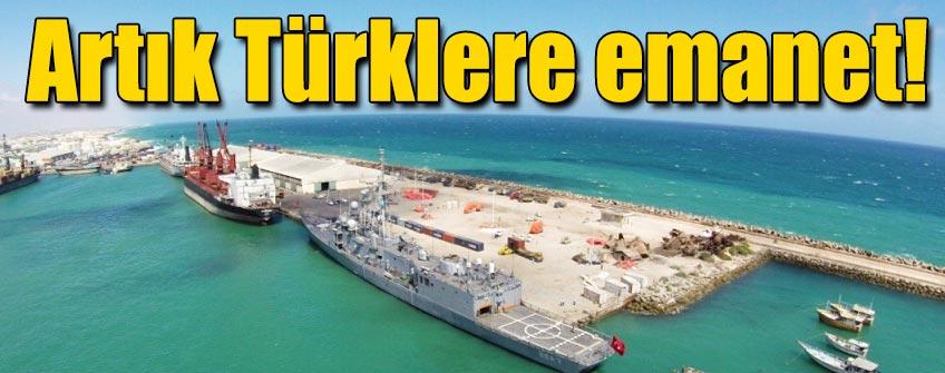 Mogadişu Limanı, Albayrak'a emanet