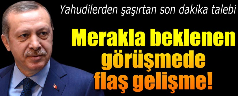 Cumhurbaşkanı Erdoğan'ın o görüşmesi iptal oldu!