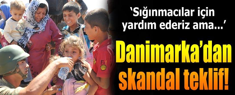 Danimarka'dan Türkiye'ye şok teklif