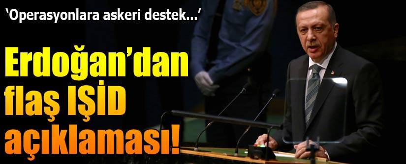 Erdoğan: ABD'nin IŞİD operasyonuna olumlu bakıyoruz