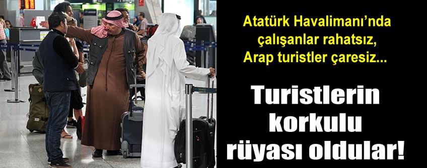 Dilenciler havalimanını mesken tuttu