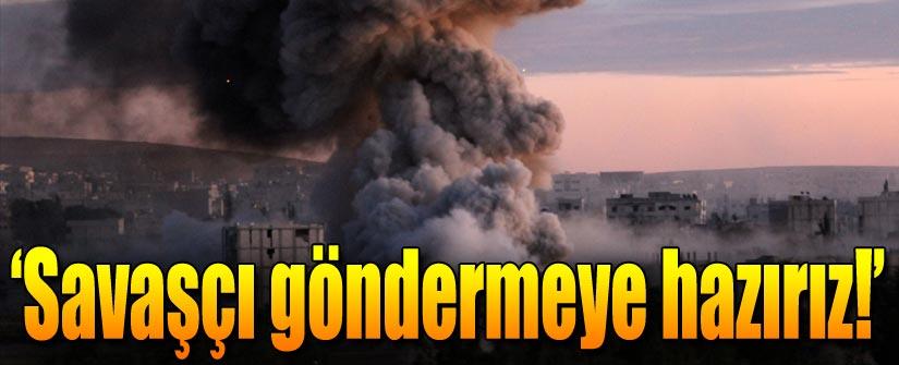 'Kobani'ye savaşçı göndermeye hazırız'
